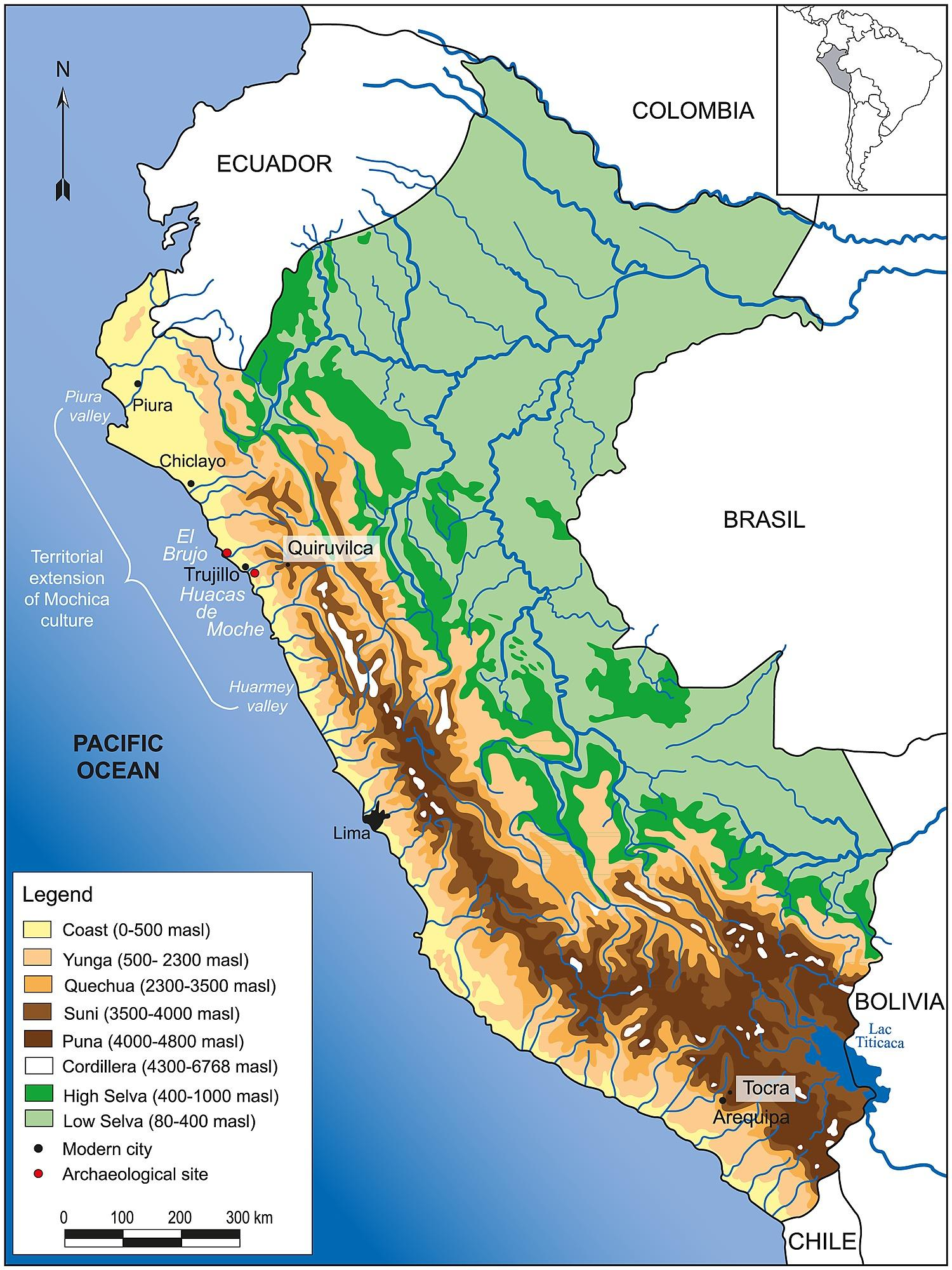 Peru Kartta
