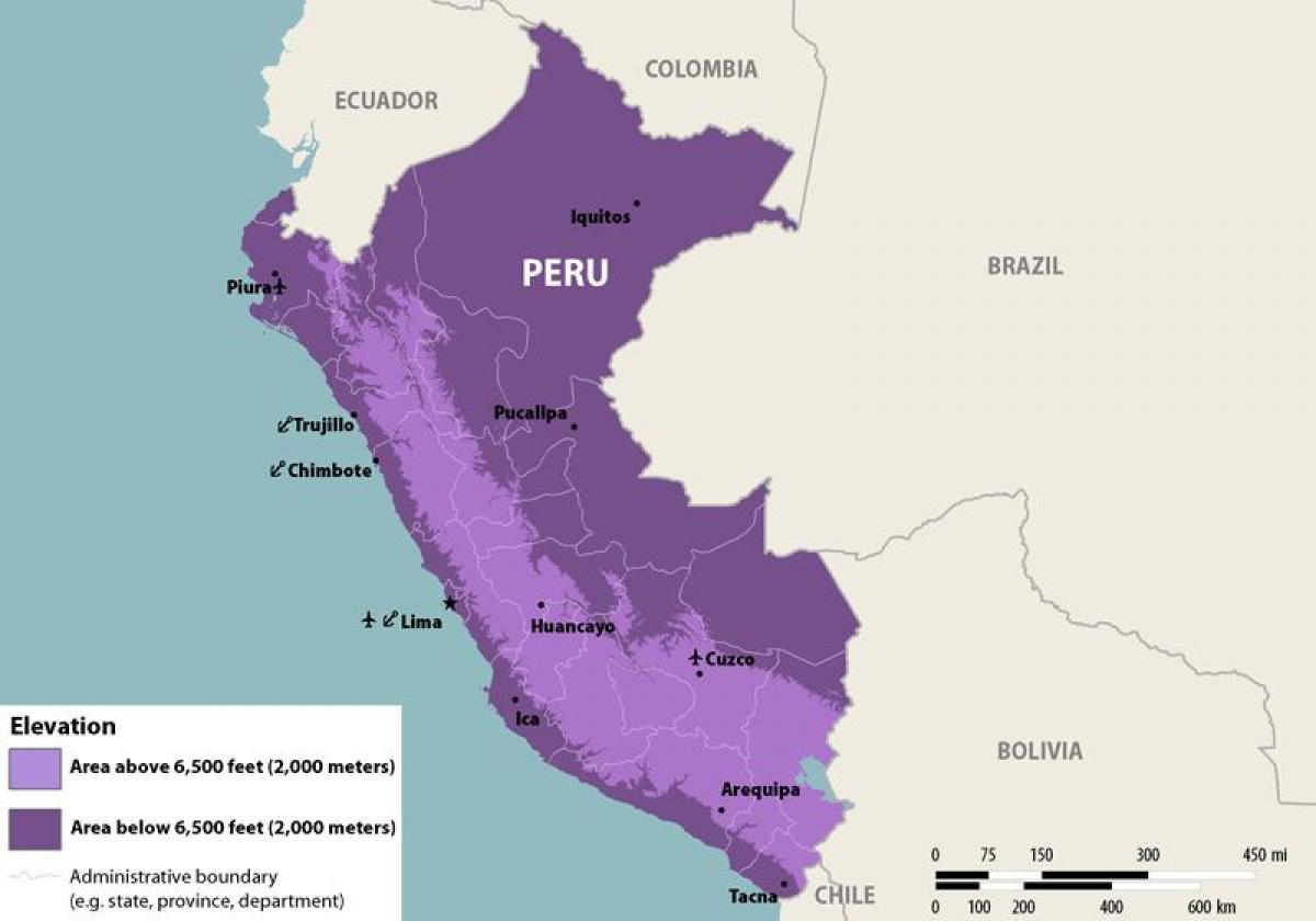 Zika Perun Kartta Kartta Zika Peru Etela Amerikka Amerikka